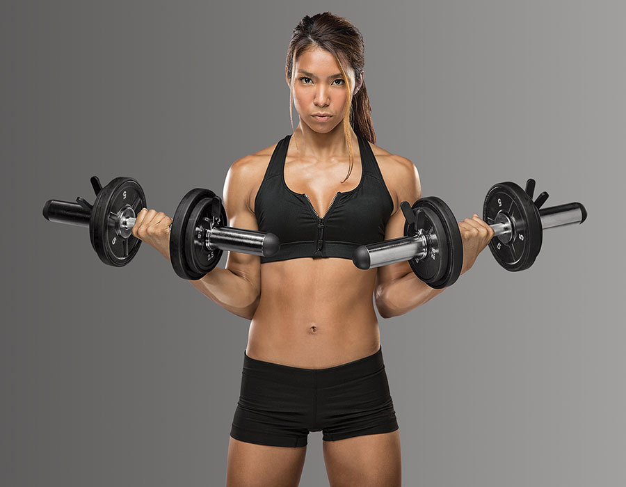 Best core exercises dumbbells workouts abs ODC-21