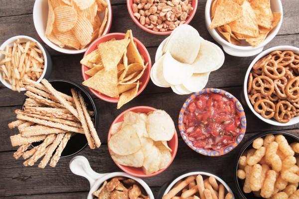 An assortment of food.