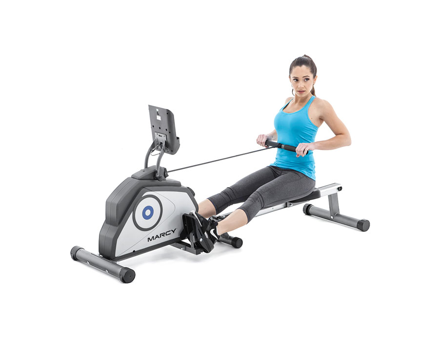 Rowing machine workout home fitness tips