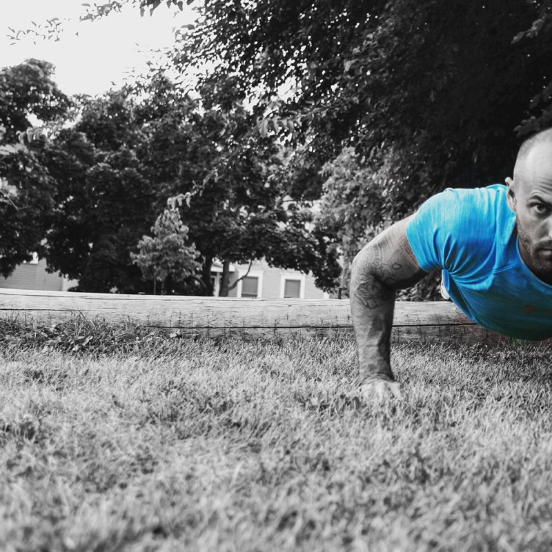 72 upper body blaster push ups
