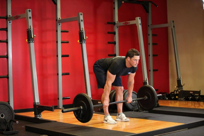 build a better back through exercise barbell deadlift