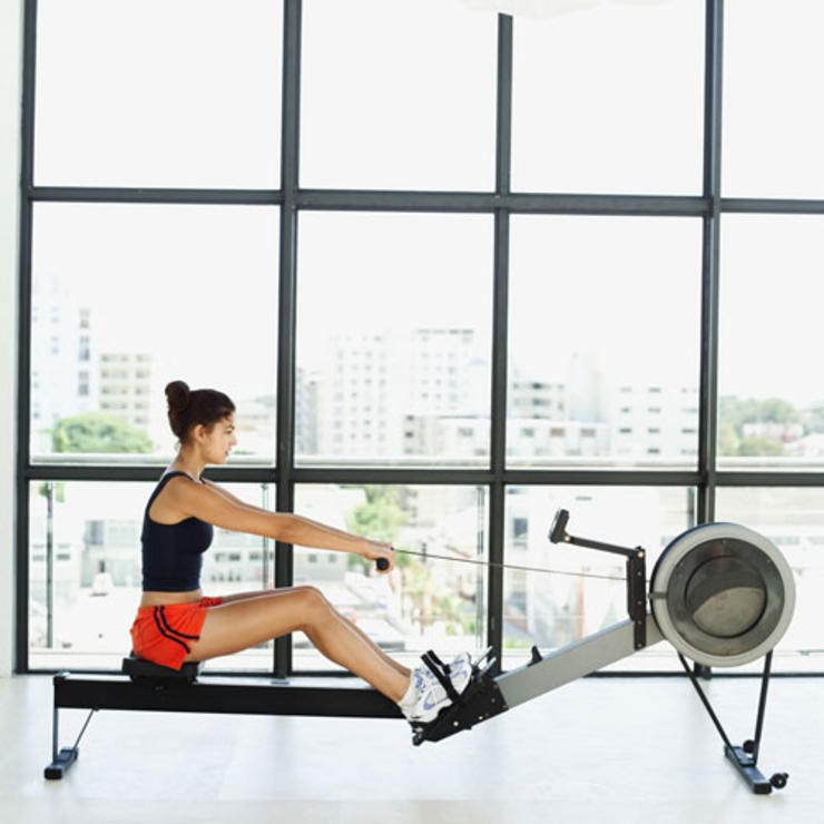 cardiovascular exercise to get your body ready again rowing