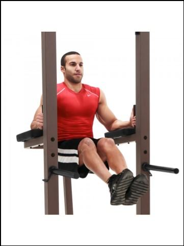 marcy power tower VKR vertical knee raises
