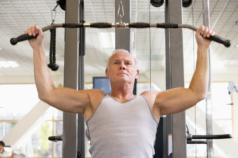 workout routines for seniors safety first