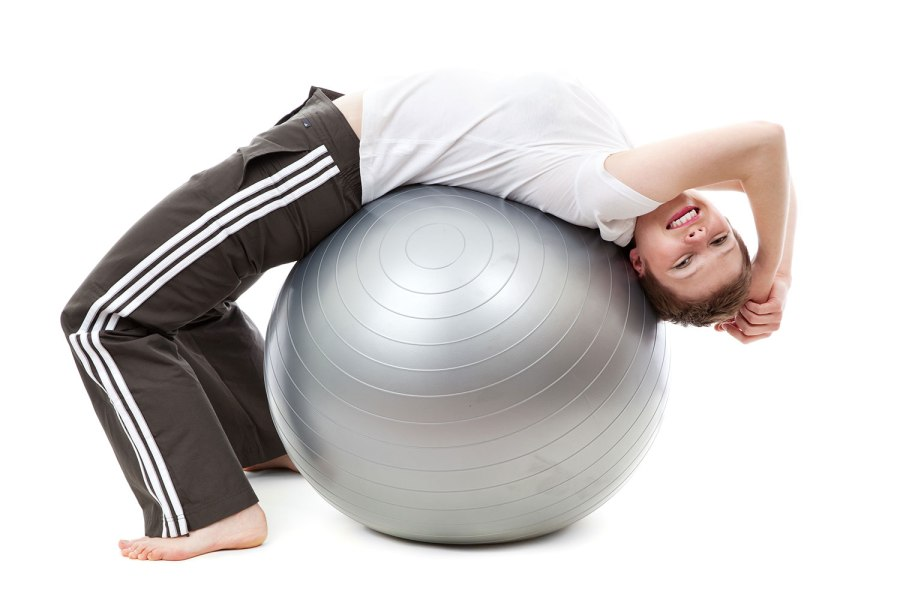 25 the 2017 confidence boost plan yoga ball