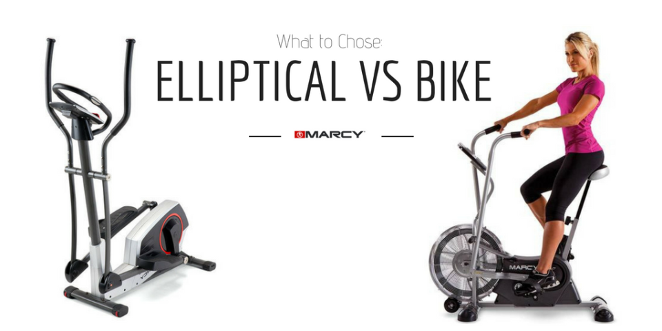 Elliptical vs. Stationary Bike
