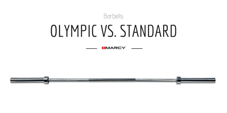 Olympic Barbell vs. Standard (1)