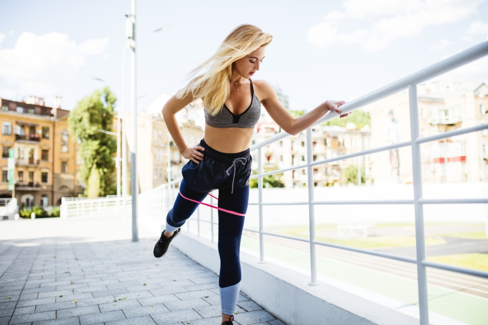 7 Resistance Band Workouts for Your Legs