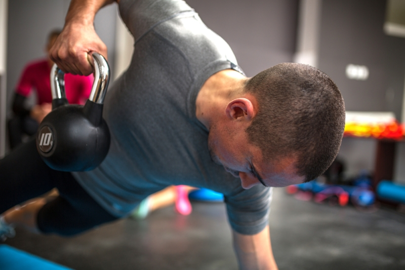 KETTLEBELLS CREATE RESISTANCE AND ADD CONDITIONING