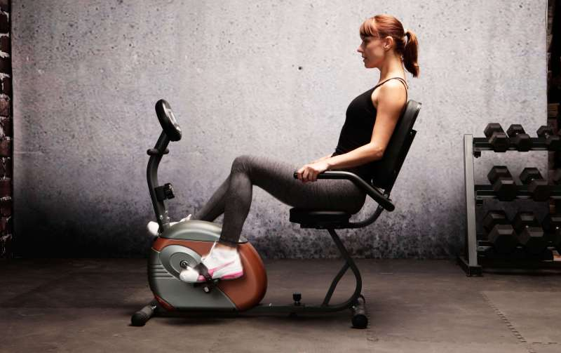 ME-709_Recumbent_Bike_female_model