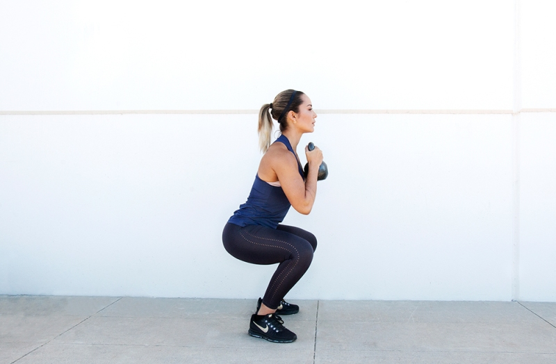 One-Kettlebell-to-Workout-your-whole-Body-Goblet-Squat