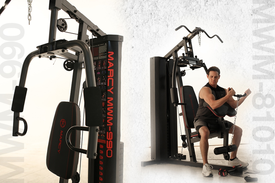 MWM-990 and MWM-81010 Stack Home Gyms - Strength Training