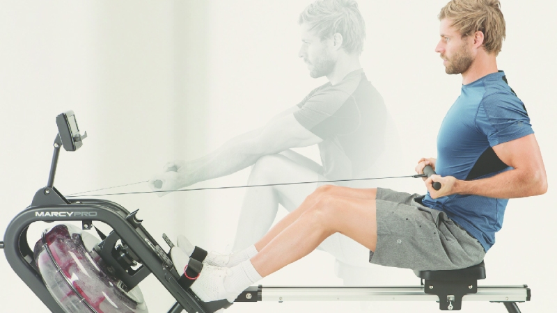 Quit Ignoring your Cardio Exercises! - Rowing is a great full body workout